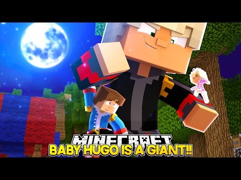 GIANT EVIL BABY HUGO CRUSHES HIS PETS!! - Little Donny Minecraft Custom Roleplay.