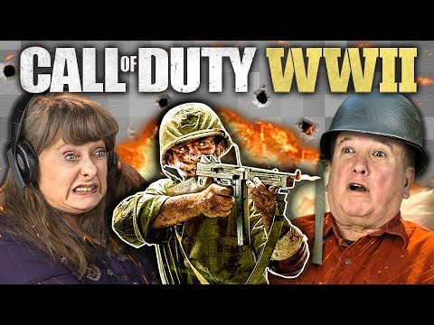 CALL OF DUTY: WW2 (Elders React: Gaming)