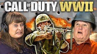 CALL OF DUTY: WW2 (Elders React: Gaming)
