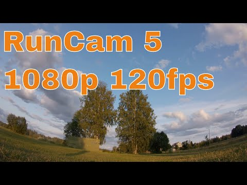 RunCam 5 Default Settings 1080p 120fps Sample Footage 3/8