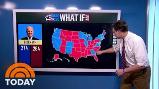 Which Battleground States Do Trump And Biden Need To Win The Presidency?   TODAY