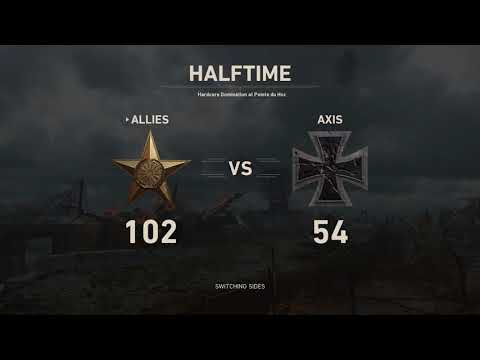 Call of Duty #1 - PS 4 HC Domination 46-10