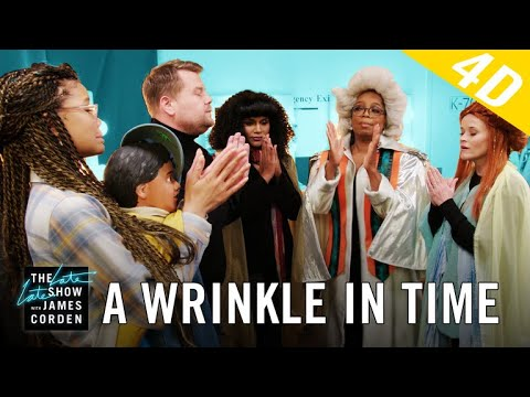 'A Wrinkle in Time' 4D w/ Oprah, Reese Witherspoon & Mindy Kaling