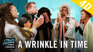 'A Wrinkle in Time' 4D w/ Oprah, Reese Witherspoon & Mindy Kaling - dooclip.me