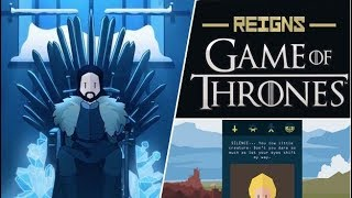 REIGNS GAME OF THRONES - Gameplay Walkthrough Part 1 IOS /Android - First Reigns