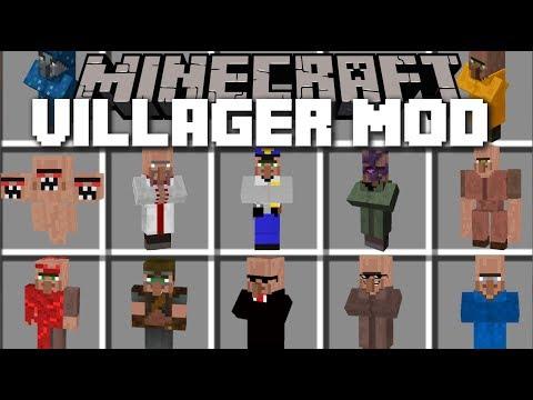 Minecraft INSANE VILLAGER MOD / SURVIVE THE EVIL VILLAGERS!! Minecraft