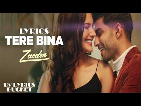 Zaeden - Tere Bina ft Amyra  Dastur | Kunaal varmaa (Lyrics Video)