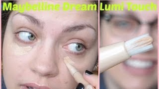 Maybelline Dream Lumi Touch Highlighting Concealer: First Impression + Review!!