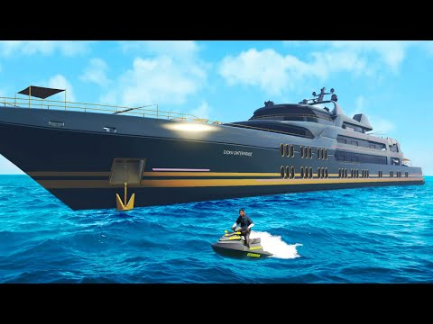 GTA 5 - NIEUW SUPER YACHT GEKOCHT! Executives And Other Criminals UPDATE!