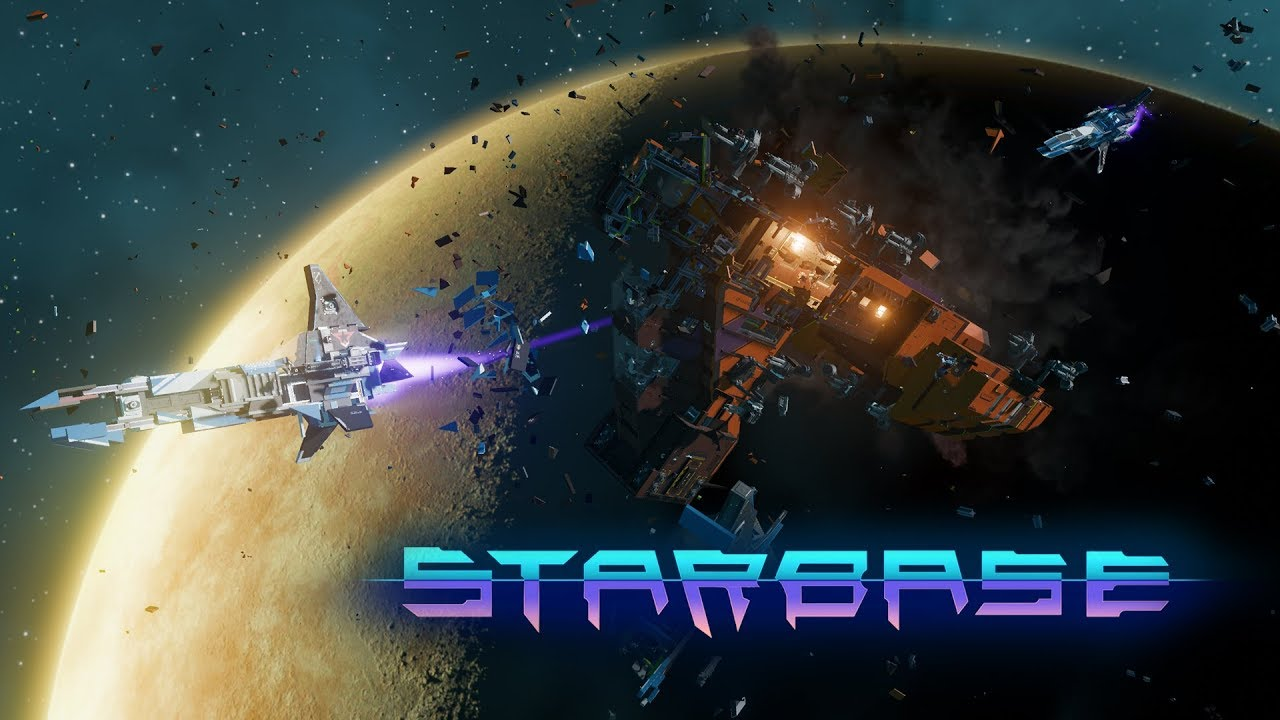 Starbase - Announcement Trailer - A Voxel/Vertex-Based Space MMO
