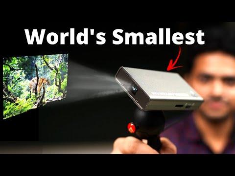 World's Smallest Projector 🔥 | Nebra AnyBeam