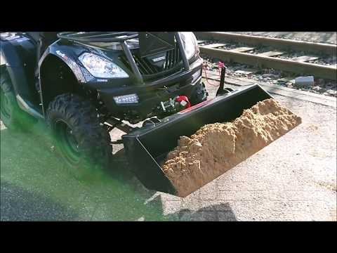 Baggerschaufel, Schaufel, Frontlader  für ATV Quad