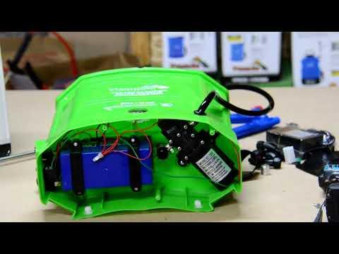 Электрический опрыскиватель Усадьба ESL 12L Литиевый аккумулятор