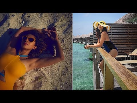 Kishwer Merchant's Maldives Vacation Pics | Check Out Her Swimsuit Photos