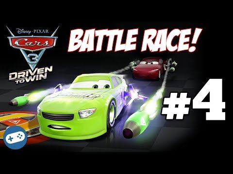 Cars 3 Driven To Win Gameplay Part 4 - Battle Race