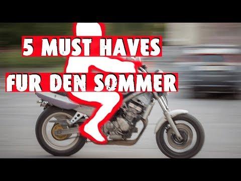 Motorradbekleidung - Das brauchst du für den SOMMER!!