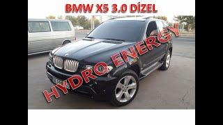 BMW X5 dizel hidrojen yakıt tasarruf sistem montajı