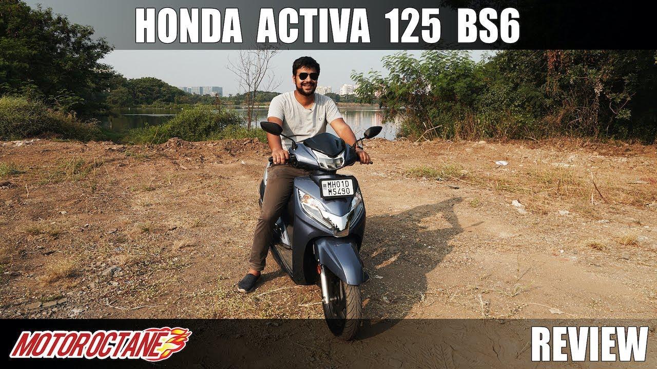 Motoroctane Youtube Video - Honda Activa 125 BS6 Review - Most Detailed | Hindi | MotorOctane