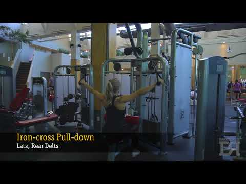 Iron Cross Lat Pull Down