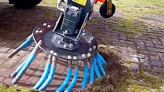 World Amazing Modern Street Sweeper Machines, Fastest Road Construction Clean Equipment