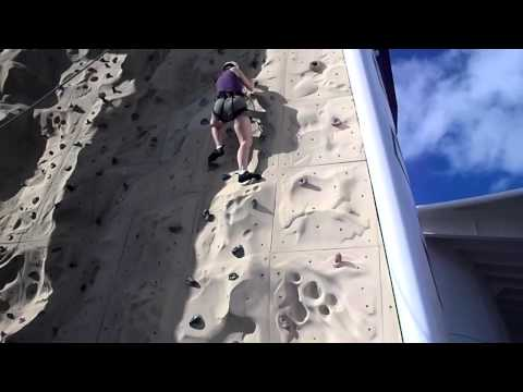 Shannon vs. The Rock Climbing Wall (Royal Caribbean)