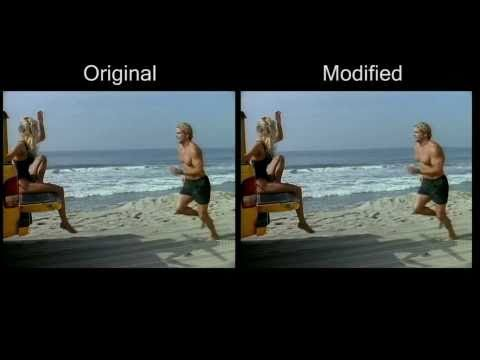 MovieReshape: Tracking and Reshaping of Humans in Videos