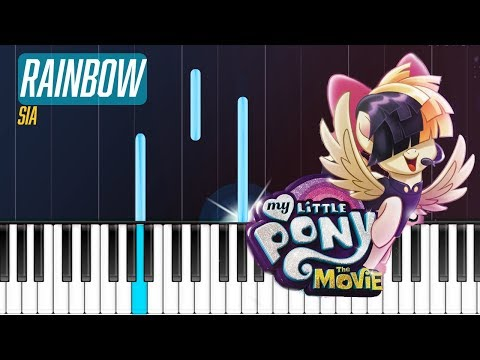 "Sia - ""Rainbow"" Piano Tutorial - Chords - How To Play - Cover Mp3"