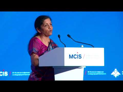 Raksha Mantri at the 7th Moscow Conference On International Security