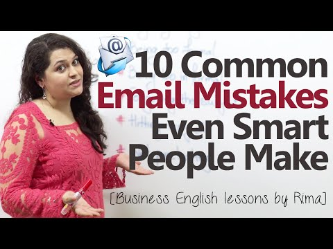 10 Common Business Email Mistakes Even Smart People Make