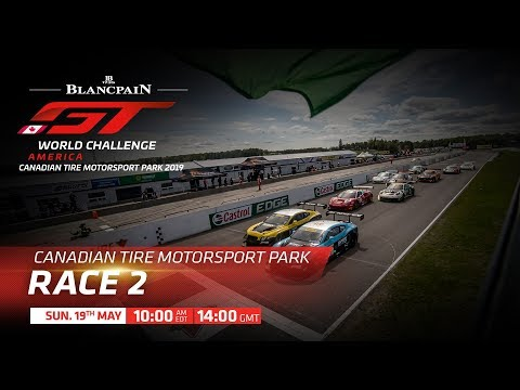 RACE 2- CANADA - Blancpain GT World Challenge USA 2019