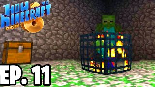 MAKING A MOB GRINDER!  H6M  Ep.11 How To Minecraft Season 6 Survival Series (SMP)