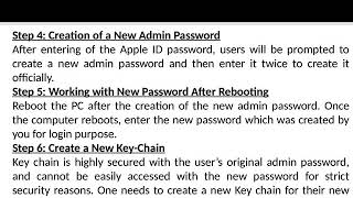 How To Reset Your Lost Admin Password on Mac OS X