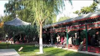 Video : China : DiTan Park 地毯公园, BeiJing