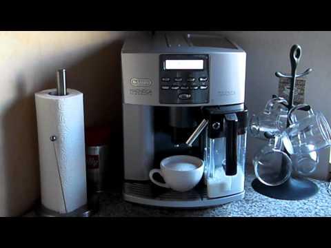 Delonghi ESAM 3600 (3500) Pronto Cappuccino * TEST-Video * Cappuccino
