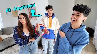 HANDCUFFED TO MY EX BOYFRIEND FOR 24 HOURS!!