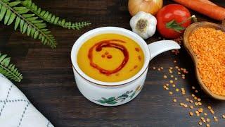 طبخ شوربة العدس التركية الرهيبه | Cooking The Best Turkish Lentil Soup Recipe