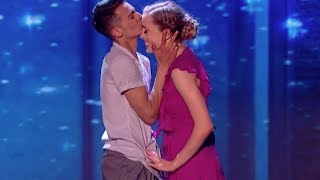 Grace & Ali Bring Their Dance Routine To A New Level| Semi Final 2 | Britain's Got Talent 2017