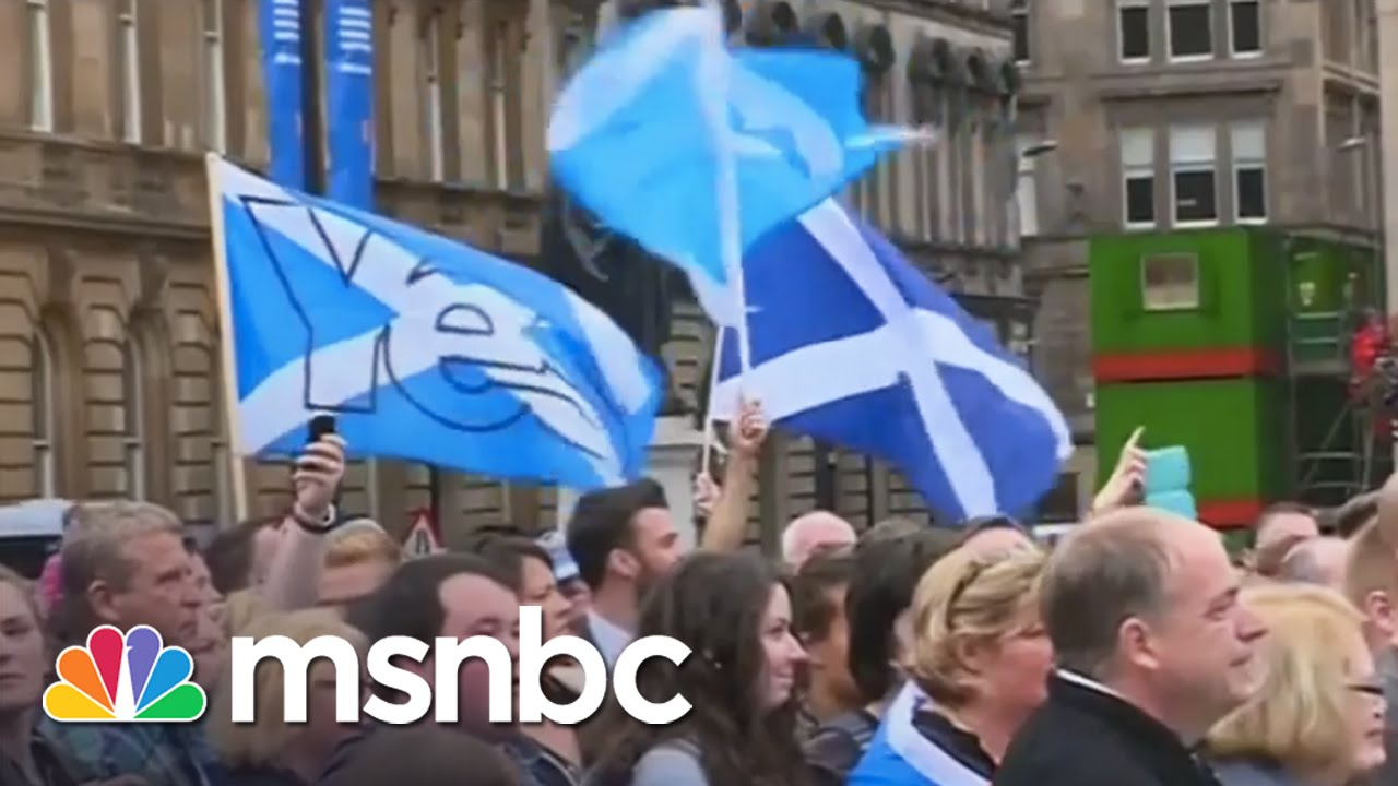 Scotland Rejects Independence From UK | msnbc thumbnail