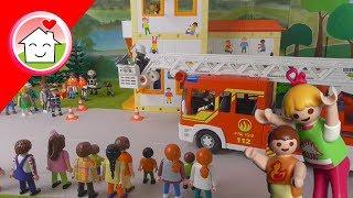 Playmobil Film Deutsch Feuerwehrhauptprobe In Der Kita Von Family Stories