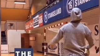 Handball SPIN SHOT - 4 step tutorial (advanced) - As used by Uwe Gensheimer Rune Dahmke