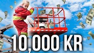EN 5-ÅRING BESTÄMMER VAD VI SKA GÖRA MED 10,000 KR.