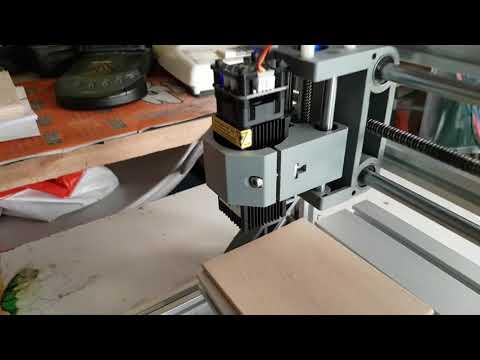Laser 2500 mW, problemas no foco....