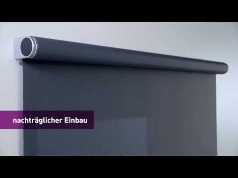 ENERO von LEHA - das flüsterleise Elektrorollo mit Batteriebetrieb
