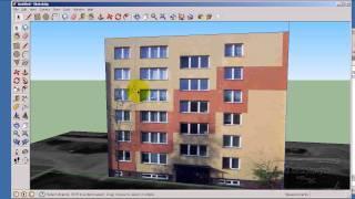 Tvorba reálného modelu pro SketchUp