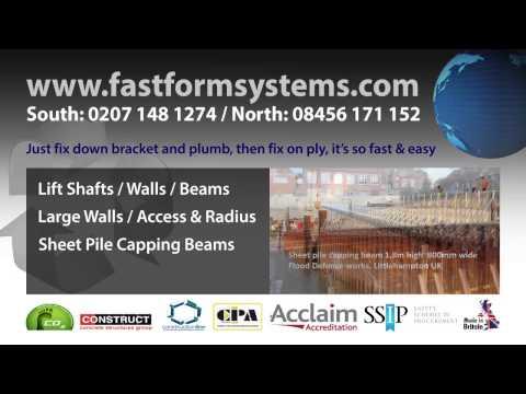 Sheet Pile Formwork System - Pile Capping System - смотреть
