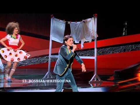 Eurovision 2008 1st Semi-Final 13 - Laka - Pokušaj - Bosnia & Herzegovina