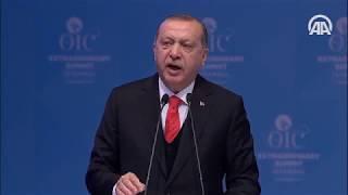 Cumhurbaşkanı Erdoğan: Kudüs kararının hiçbir hükmü olamaz