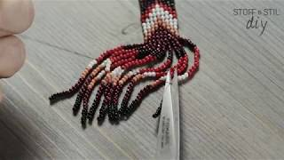 DIY: Bead Loom Earrings Made By STOFF & STIL