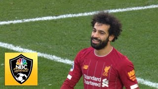 Mohamed Salah wraps up the points for Liverpool against Watford   Premier League   NBC Sports