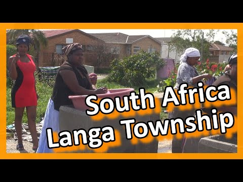 South Africa - Capetown Township Langa